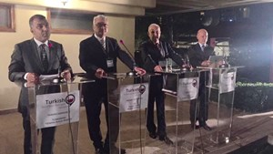 TÜRKONFED'in Kurucuları Arasında Bulunduğu Türk İş Dünyası Diyalog Platformu'nda bir Araya Geldi