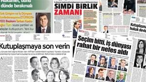 TÜRKONFED'in Seçim Sonrası Mesajları Basında Geniş Yer Buldu