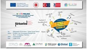 Worth Projesi Kapanış Toplantısı İstanbul'da Düzenleniyor