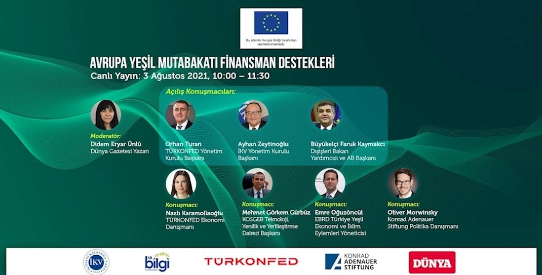 Avrupa Yeşil Mutabakatı Yeni Ekonomik Sistemde Kilit Rol Üstlenecek!