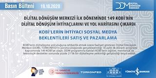 DDM İlk Döneminde 149 KOBİ'nin  Dijital Dönüşüm İhtiyaçlarını ve Yol Haritasını Çıkardı!