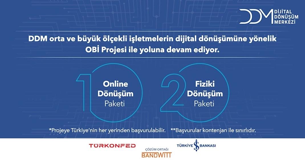 DDM'den Orta Büyüklükteki İşletmelere Özel Dijital Dönüşüm Danışmanlığı!