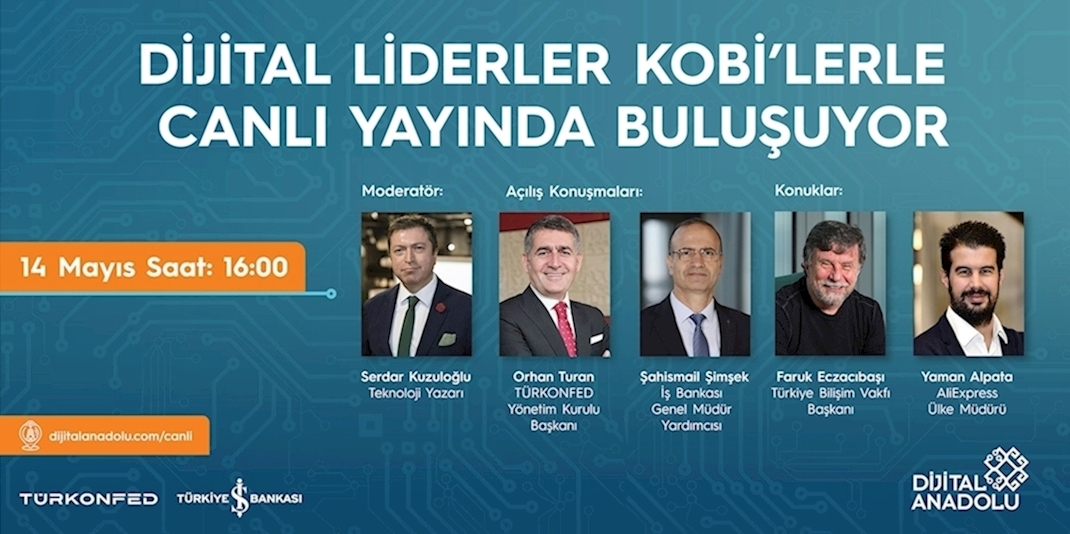 Digital Anatolia and Digital Transformation Center on Online Platform!