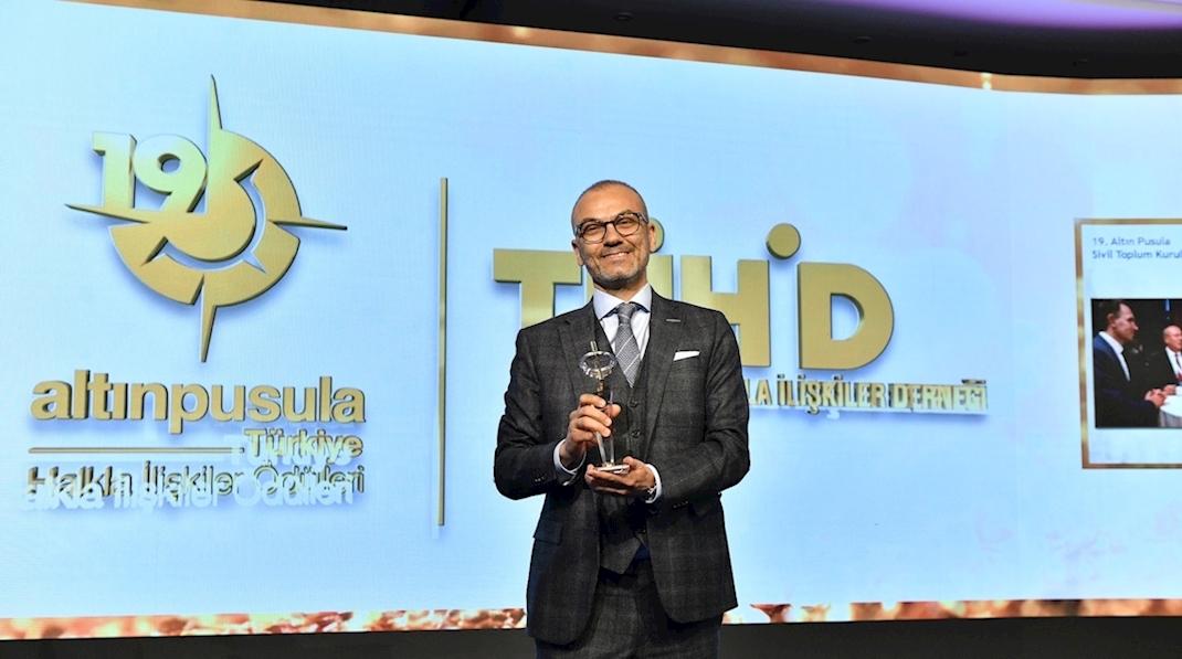 Dijital Anadolu Projesi Altın Pusula'dan Ödülle Döndü!
