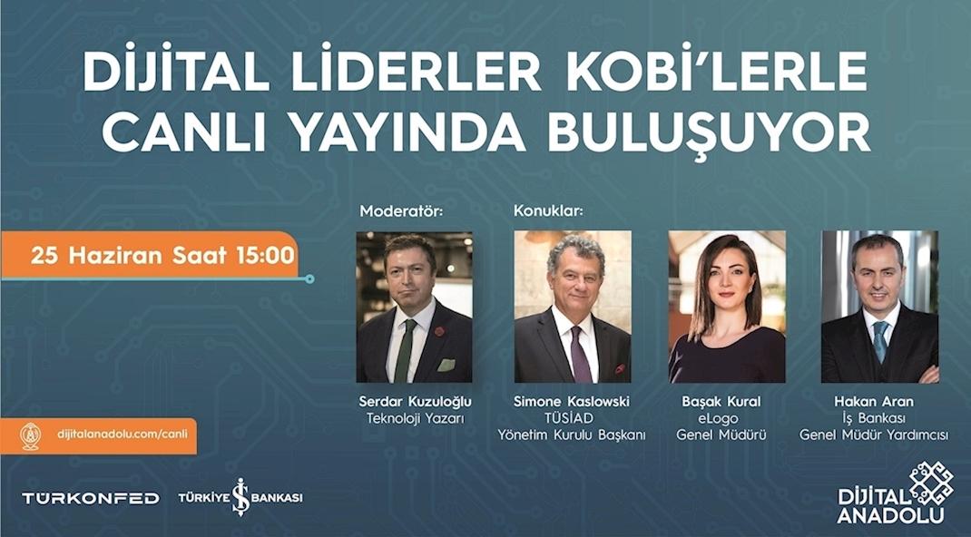 KOBİ'ler Dijital Liderlerin  Rehberliğinde 'Yeni Normal'e Geçiyor!