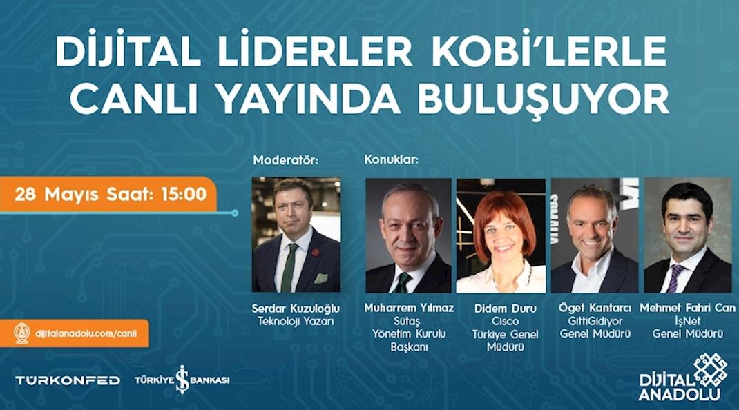Dijital Liderler KOBİ'lere Rehberlik Etmeyi Sürdürüyor!
