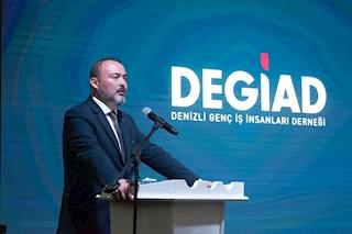 Hakan Urhan Yeniden DEGİAD Başkanı Seçildi
