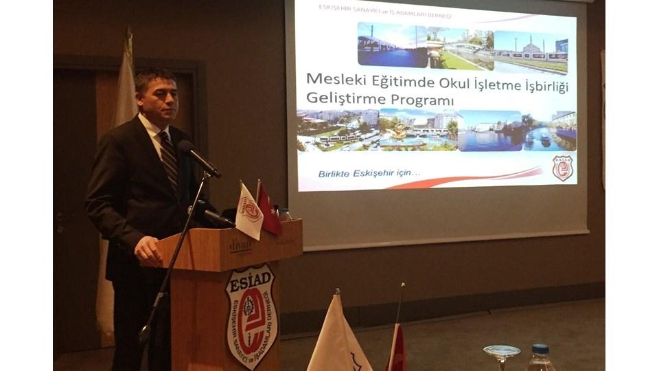 Okul-İşletme İşbirliğini Geliştirme Programı İlk Buluşması Eskişehir'de Yapıldı