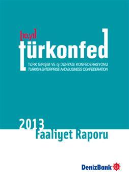 TÜRKONFED 2013 Faaliyet Raporu