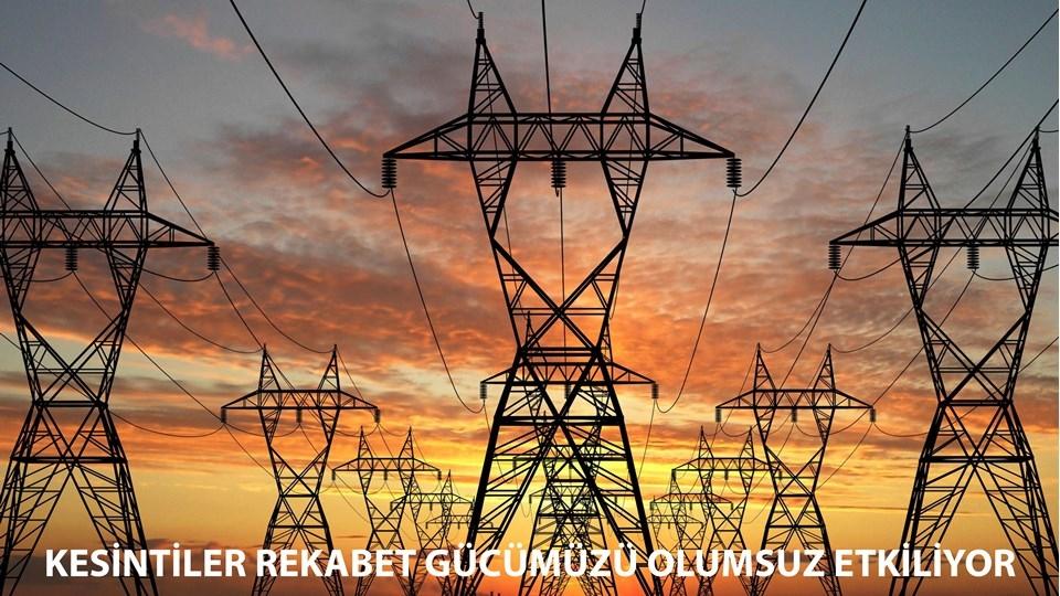 TÜRKONFED Başkanı Kadooğlu Elektrik Kesintileri Üretim ve Rekabet Gücümüzü Olumsuz Etkiliyor