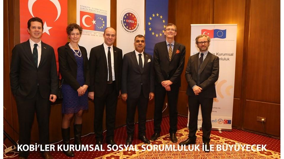 TÜRKONFED Başkanı Kadooğlu KOBİler KSS ile Büyüyecek
