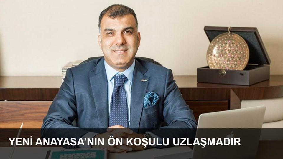 TÜRKONFED Başkanı Kadooğlu Yeni Anayasanın Ön Koşulu Toplumsal Uzlaşmadır