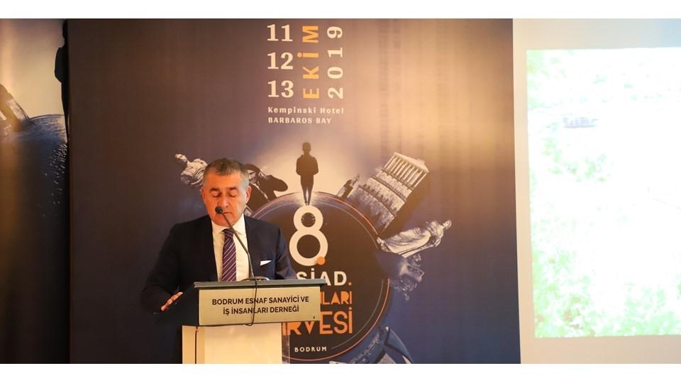 12 Ekim 2019-TÜRKONFED Başkanı Orhan Turan'ın 8. BESİAD İş İnsanları Zirvesi Konuşma Metni