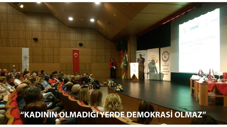 TÜRKONFED Kadının Olmadığı Yerde Demokrasi Olmaz