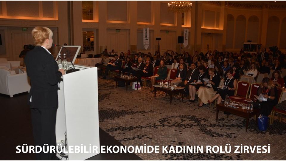 TÜRKONFED Sürdürülebilir Ekonomide Kadının Rolü Zirvesi Kadın Liderleri Buluşturdu