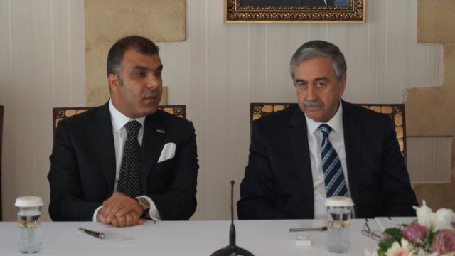TÜRKONFED Delegation Meets TRNC President Akıncı