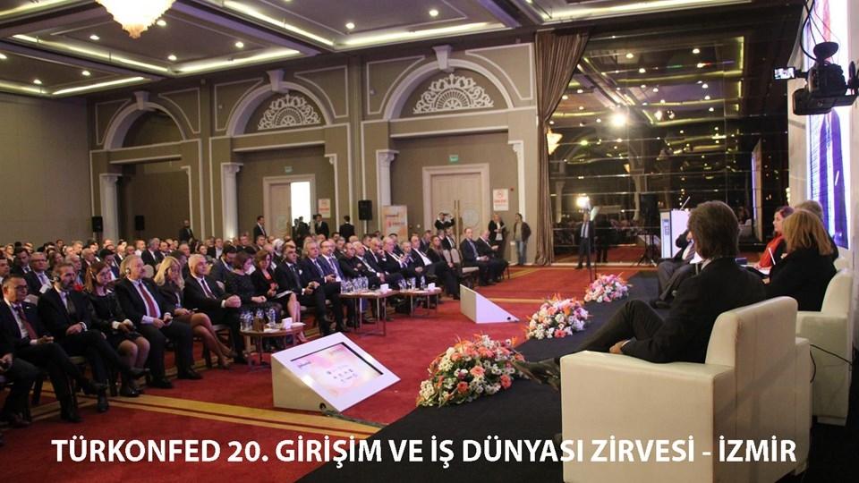 TÜRKONFED Zirvesinde Patronlar İzmirden Siyasilere Çağrı Yaptı