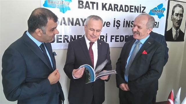 TÜRKONFED'E Batı Karadeniz'den Yeni Bir Güç: BAKZİFED