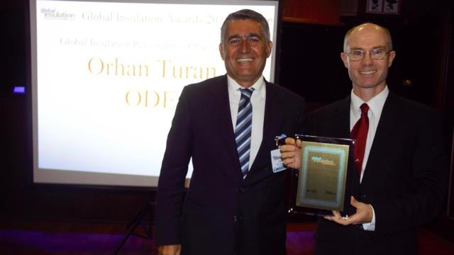 Yalıtımın Dünya Liderlerinden ODE'ye 2 Büyük Ödül
