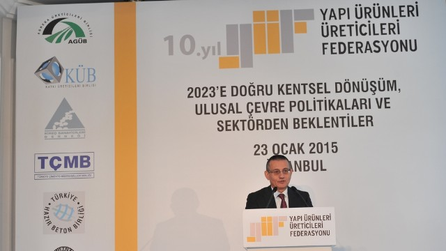 YÜF: '2023'e Doğru Kentsel Dönüşüm, Ulusal Çevre Politikaları ve Sektörden Beklentiler'