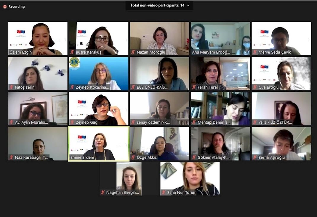 İş Dünyasında Kadın İletişim Ağı Projesi'nin İlk Arama Konferansı Düzenlendi