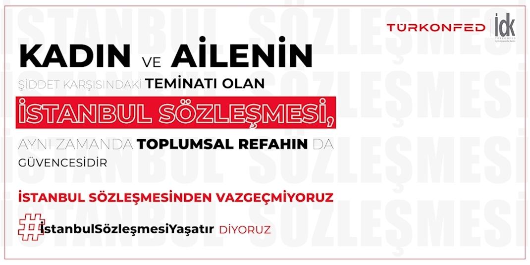 İstanbul Sözleşmesi'nin İptaline Yönelik Basın Açıklaması