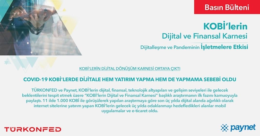 KOBİ'lerin Dijital Dönüşüm Karnesi Ortaya Çıktı!