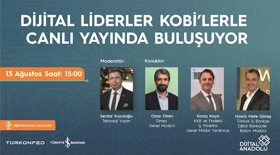 Dijital Liderlerden KOBİ'lere Yeni Normal Tavsiyeleri!