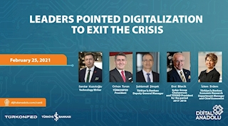 Leaders Pointed Digitalization to Exit The Crisis!