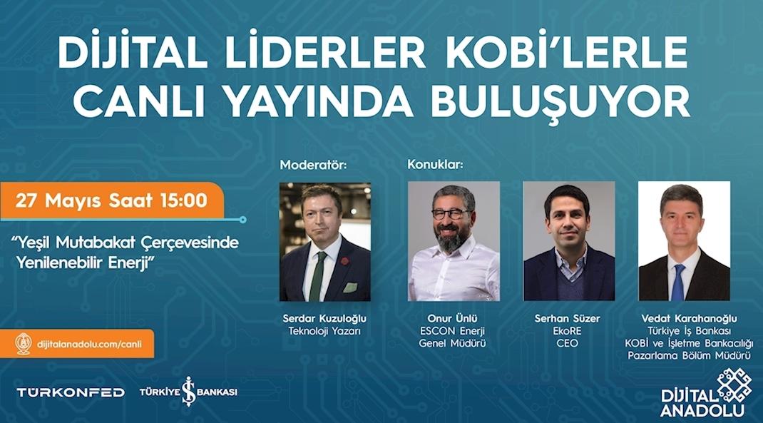 Liderlerden KOBİ'lere  Enerji Verimliliği için İpuçları!