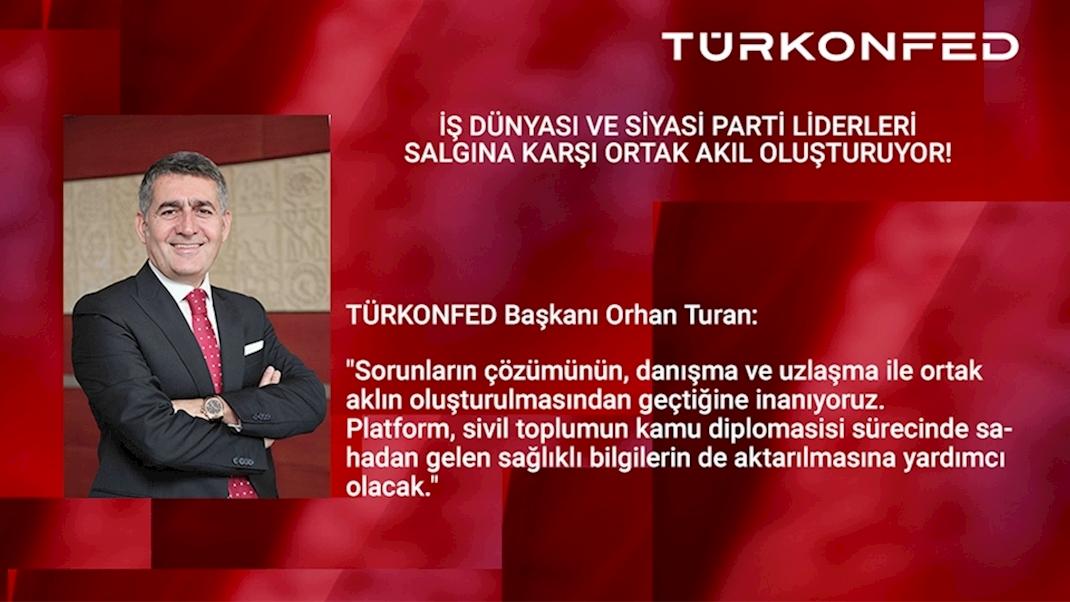 TÜRKONFED Ortak Akıl Platformu Siyasi Partiler ile Buluşuyor!