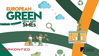"""TURKONFED Published the """"European Green Deal and SMEs"""" Report"""