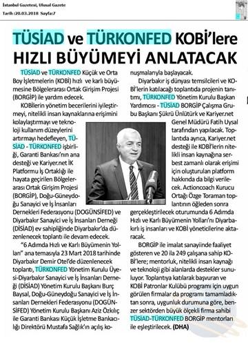 BORGİP Diyarbakır Toplantısı Medya Yansımaları 23 Mart 2018 / Diyarbakır