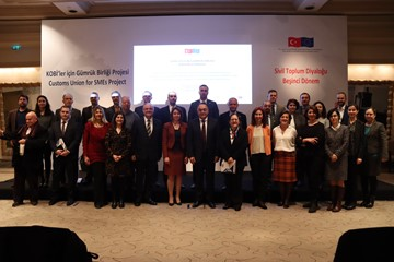 KOBİ'ler için Gümrük Birliği Kapanış Toplantısı - 16 Ocak 2020 / İstanbul