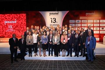 TÜRKONFED 13. Olağan Genel Kurulu 12 Mayıs 2018 / İstanbul