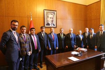 TÜRKONFED, Başbakan Yardımcıları ve Bakanlara Politikalarını Anlattı
