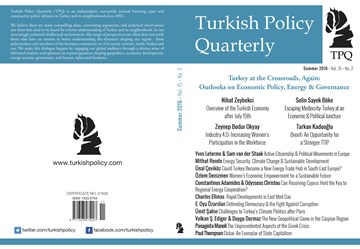 TÜRKONFED Başkanı Kadooğlu'nun TPQ Dergisi Brexit ve TTIP Makalesi / Summer 2016