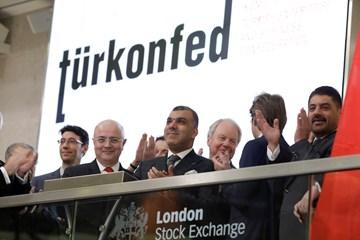 TÜRKONFED-ELITE Programı Türkiye'nin Yükselen Liderleri Raporu Londra Borsası Tanıtımı 12 Aralık 2017 / Londra
