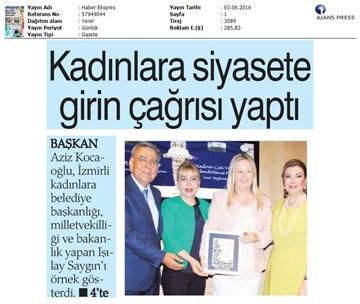 TÜRKONFED, İDK Komisyonu ''Kadının Çok Yönlü Güçlendirilmesi'' Projesi - İzmir