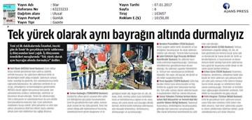 TÜRKONFED-İzmir Terör Saldırısı Kınama Mesajı Medya Yansımaları-07.01.2017