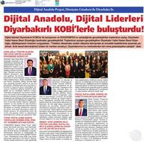 Dijital Anadolu Toplantısı Medya Yansımaları - 12 Kasım / Diyarbakır