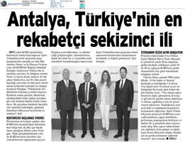 İşimi Yönetebiliyorum Projesi Medya Yansımaları - 13 Eylül 2019 / Antalya