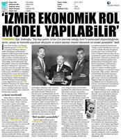 İzmir Kent-Bölge Raporu Tanıtım Toplantısı-TÜRKONFED&BASİFED / Medya Yansımaları-28-07-2017