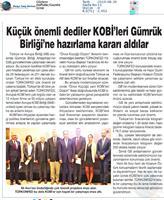 KOBİ'ler için Gümrük Birliği Kapanış Toplantısı Medya Yansımaları - 16 Ocak 2020 /İstanbul