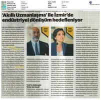 TÜRKONFED, EGİAD İzmir Rekabet Endeksi Toplantısı - Son Medya Yansımaları / 5 Temmuz 2017