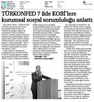 TÜRKONFED KSS Anadolu Çalıştayları Tamamlandı Medya Yansımaları-04.02.2017