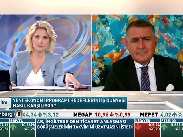 TÜRKONFED Yönetim Kurulu Başkanı Orhan Turan - Bloomberg HT 30 Dakika Programı/ 16 Ekim 2020