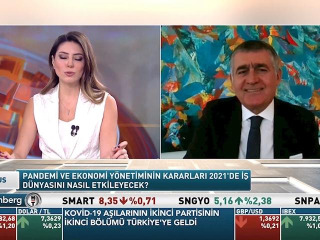 TÜRKONFED Yönetim Kurulu Başkanı Orhan Turan - Bloomberg HT Fokus Programı/ 29 Ocak 2021