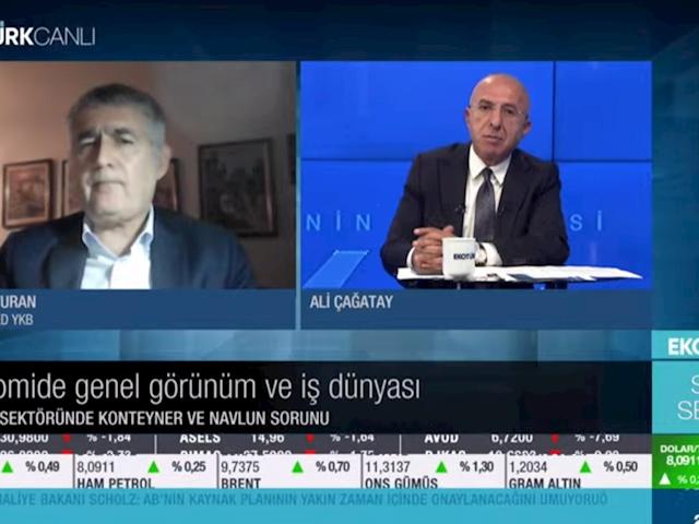 TÜRKONFED Yönetim Kurulu Başkanı Orhan Turan - EKOTÜRK TV Son Seans Programı / 19.04.2021