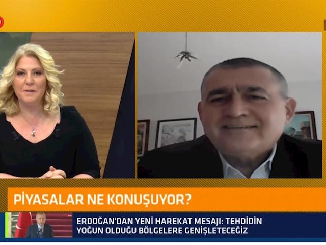 TÜRKONFED Yönetim Kurulu Başkanı Orhan Turan - TV100 Ahu Özyurt ile 10'dan 12'ye Programı / 17 Şubat 2021